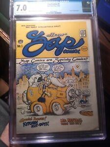 Zap Comix #1 CGC 7.0 *1st Print* Robert Crumb Charles Plymell Edition UNPRESSED!