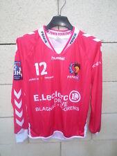 Maillot handball FENIX TOULOUSE n°12 PARDIN shirt LNH rose manches longues XS