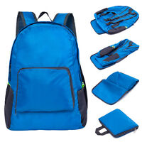 Lightweight Foldable Backpack Water Resistant Travel Hiking Outdoor Shoulder Bag
