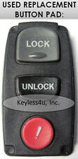 replacement BUTTON PAD KPU41846 keyless entry remote transmitter clicker keyfob