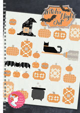 Pattern Book ~ WITCH'S NIGHT OUT ~ by It's Sew Emma Patterns