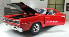 Voitures miniatures rouge pour Dodge