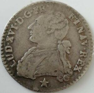 1/10ème écu Louis XVI - 1788 MA  Marseille argent