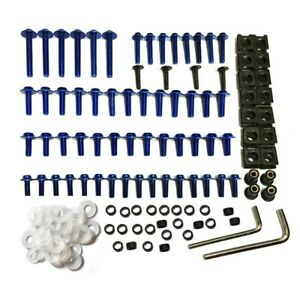 Brand new For Yamaha All Models&Years Fairing Screws Bolts Fastener Clips Kit