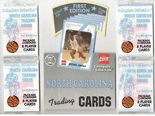 100 Factory Sealed 1989 North Carolina 1st Edition Packs w/7 diff MICHAEL JORDAN