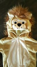 Halloween Miniwear Lion Costume Toddler Infant Baby  size 18 months Brown Tan
