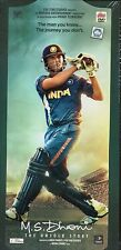 M.S. DHONI - THE UNTOLD STORY - OFFICIAL BOLLYWOOD DVD - FREE POST [MS]