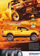 2006 Ford F-150 Baja Truck BF Goodrich  Original Car Advertisement Print Ad J284