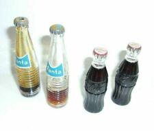 Coca Cola & Fanta Mini Soda Bottles Lot of 4  T*