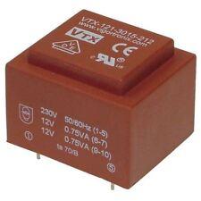 Vigortronix VTX-121-3015-206 Encapsulated PCB Transformer 230V 1.5VA 0-6V 0-6V