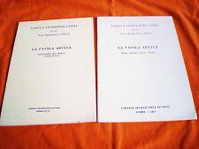 la favola antica testi latini ,testi tradotti e pagine critiche 71-72