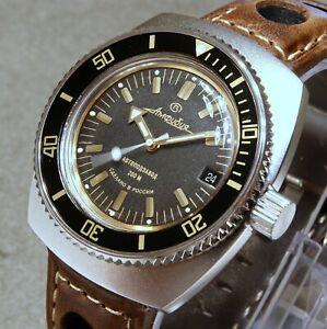 Vostok Amphibia Custom Russian Dive Watch, New, Boxed, UK seller
