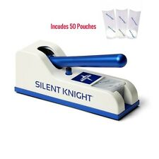 Mckesson SK100 Silent Knight Pill Crusher, includes 50 Pill Pouches