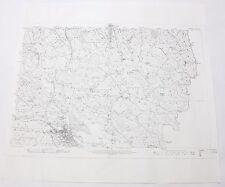 Monaghan Ireland 1910 Vintage Original Ordnance Survey Map