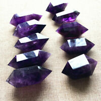 Natural Amethyst Quartz Purple Crystal Points Wand Rock Obelisk Healing 3-4cm