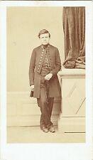 Photo cdv : Merienne ; Elève d'un Lycée Militaire en pose , vers 1865