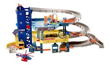 Car Wash Toy 4-Level Garage Play Set Service Station Repair Toddlers Kids Truck