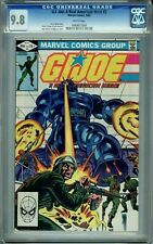 GI JOE A REAL AMERICAN HERO 3 CGC 9.8 WP Marvel Comics 1982