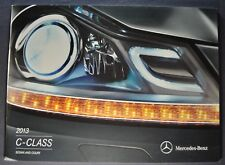 2013 Mercedes-Benz C-Class Brochure C 250 300 350 AMG Excellent Original 13