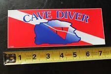 New listing Cave Diver Scuba Dive Diver Snorkel Vintage Surfing/Diving Sticker