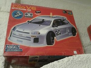 VINTAGE NIKKO CLIO V6 GP15 ENGINE RC CAR 1/8 SUPER RARE NIB LAST ONE IN STOCK