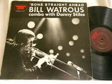 BILL WATROUS Bone Straight Ahead Al Cohn Hank Jones Steve Gadd Milt Hinton LP