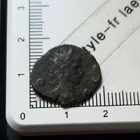 H04427 pièce de monnaie romaine antoninien à identifier