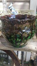 Antique Weller Vase Rare Watermellon Glazing