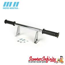 Footrest Foot Bar MOTO NOSTRA (Chrome) (Vespa PX80, PX125, PX150, PX200, T5)