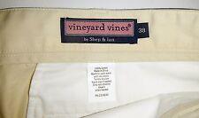 Mens 38 Vineyard Vines by Shep & Ian Sand Yellow Club Short Shorts Cotton