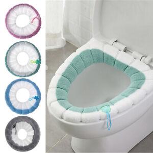 Soft Plush Toilet Seat Pad Closestool Bathroom Accessories Toilet Seat Mat