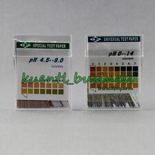100 Strisce Reattive PH PH 0-14 4.5-9 Alcaline ACIDO Urina/Saliva/Tornasole Bastoncini di Carta