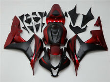 NT Black Red Injection Plastic Fairing Fit for Honda 2007 2008 CBR 600 RR c006