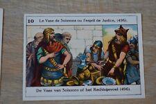 Belgische Geschiedenis - Histoire de Belgique - 10 - vase de Soissons - 496