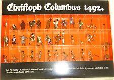 Christopher Columbus in Amerika 34 handbemalte PREISER 13264 H0 1:87 OVP å √