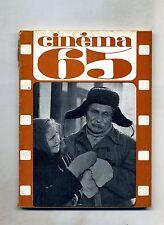 CINÈMA 65-Le Guide Du Spectateur N. 97#Federation Francaise des Cinè Clubs 1965