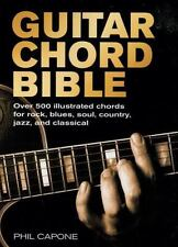 Music Bibles: Guitar Chord Bible by Phil Capone (2009, Spiral)