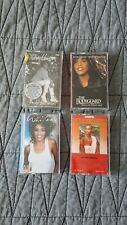Whitney Houston I'm Your Baby Tonight/Bodyguard set of 4 Cassettes collection