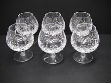 Waterford Taurus Nocturne Collection Brandy Snifters Glasses / Set of 6