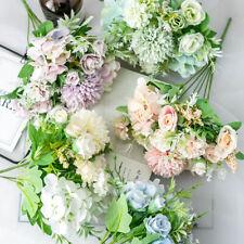 Artificial Silk Wedding Bouquet Rose Flower Bridesmaid Bride Holding Flower New