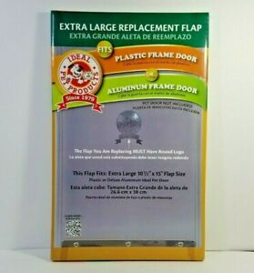 """Ideal Pet Products Extra Large XL Replacement Flap RFXLN New 10.5""""x15"""""""