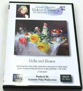 Johnnie Liliedahl: Dolls & Roses - Art Painting Instruction DVD