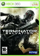 Terminator Salvación XBOX 360 Video Juego Original Perfecto estado UK release