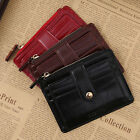 Wallet Money Clip Mens Womens Leather Credit Card Holder Ultra Slim Wallet Purse