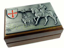 Zippo Crusader Templer Vol.2  limited Edition in Holzbox NEU  2003685 limitiert