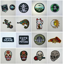1Pc Embroidered Iron On / Sew On Patch Badge Bag Hat Jeans Fabric Applique Craft