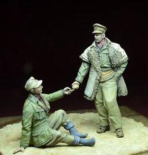 1/35 Escala Kit de modelo de resina LRDG oficial & Afrikakorps Pow Kit Modelo Militar
