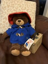 Build-A-Bear Paddington in Blue Jacket Red Hat Outfit Limited 2012 edition