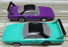 for H0 slotcar racing Model Railway 2 Plymouth with Life Like Chassis