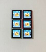 Apple iPod Nano 6th Generation (8GB, 16GB) Various Colors Good Condition